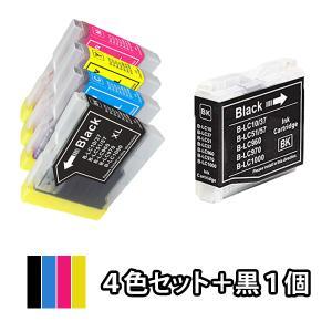 4色セット+黒1本 BROTHER ブラザー 互換インク LC10-4PK対応 MFC-880CDN...