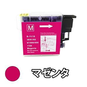 BROTHER ブラザー 互換インク LC11M マゼンタ 単品1本 DCP-595CN DCP-5...