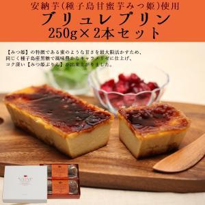 種子島甘蜜芋『みつ姫』のブリュレプリン 250g×2本入り...