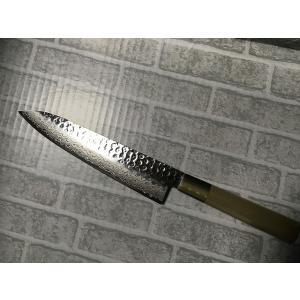 堺孝行 ダマスカス45層鋼 和包丁 ペティ 150mm 即納 mitusaburo