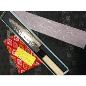 堺孝行ダマスカス45層鋼和包丁牛刀240mm|mitusaburo|02