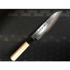 堺孝行ダマスカス45層鋼和包丁牛刀240mm|mitusaburo|07