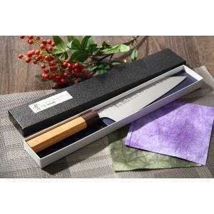 堺孝行 ダマスカス33層鋼 和式 剣型牛刀 190mm 即納 mitusaburo