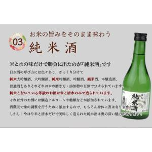 日本酒 お歳暮 御歳暮 ギフト 晩酌飲み切りセット 日本酒飲み比べとおつまみセット 大吟醸3本とピュアな純米酒1本 300ml飲み比べ あんきもセット|mituwa|06