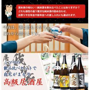 お歳暮 日本酒 純米酒 セット 飲み比べ お酒 一升瓶 1800ml 4本 夢の福袋 詰め合わせ 辛口|mituwa|05