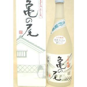 お歳暮 御歳暮 ギフト 2017 日本酒 亀の尾 大吟醸 生酒720ml 日本酒|mituwa