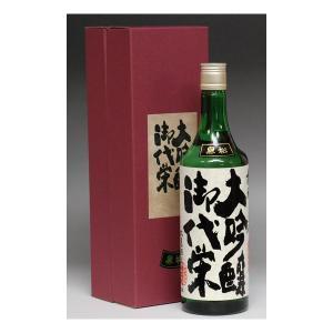 バレンタイン ギフト 2018 日本酒 御代栄 黒松大吟醸720ml|mituwa