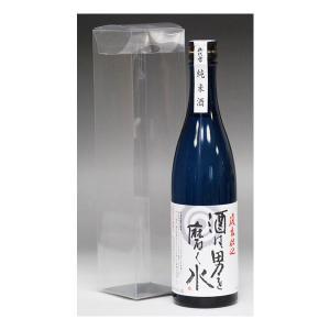 バレンタイン ギフト 2018 日本酒 御代栄 酒は男を磨く水720ml 復元仕込純米酒|mituwa