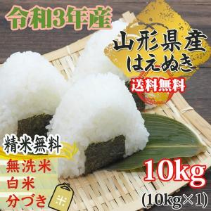 米 お米 10kg×1 はえぬき  玄米10kg 平成29年...