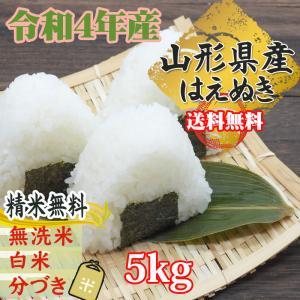 はえぬき 米 お米 玄米5kg 平成29年産 山形産  白米...