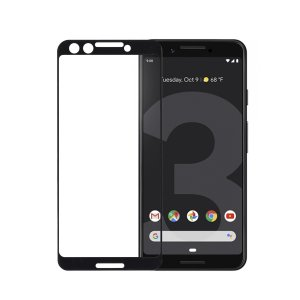 Google Pixel 3 / Pixel 3 XL 強化ガラスフィルム 3D 曲面 全面保護 フルカバー 旭硝子製ガラス素材 9H miwacases 02