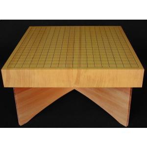 碁盤 新かや20号 卓上 松印 卓上盤台付 miwagobanten