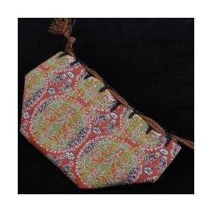 駒袋 正絹金襴(龍村美術織物製)H miwagobanten