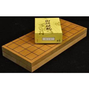 折将棋盤7号木製駒セット A|miwagobanten