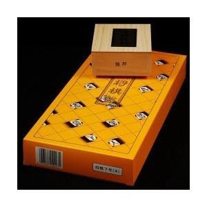 折将棋盤7号木製駒セット Bの商品画像