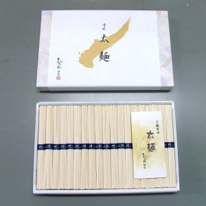 ひやむぎ 冷や麦 太麺 50g×19束 三輪素麺みなみ 家庭用 贈答用 化粧箱|miwaminami-store