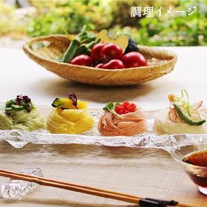 母の日 ギフト 夏野菜を使った三輪素麺(トマト・オクラ・カボチャ)18束 約12人前 限定セット|miwasoumenikeri|02