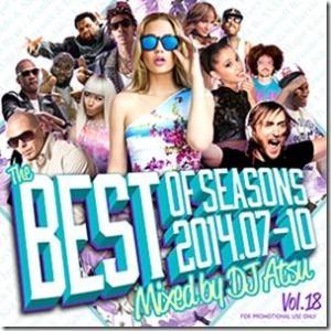 EDM・TOP40・洋楽・アリアナグランデ【MixCD】The Best Of Seasons Vol.18 2014.07-2014.10- / DJ Atsu[M便 2/12]【MixCD24】|mixcd24