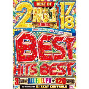 【洋楽DVD・MixDVD】2017-2018 No.1 Best Hits Best / DJ Beat Controls [M便 6/12]|mixcd24