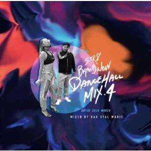 【洋楽CD・MixCD】STR8 Brand New Dancehall Mix.4 -Dated 2019 March- / Bad Gyal Marie[M便 1/12]|mixcd24