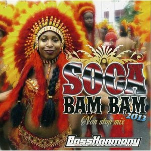 【MixCD】【洋楽】中南米の国トリニダットの音楽Socaを収録!!Soca Bam Bam 2013 / Bass Harmony The Righteous Movement[M便 1/12] mixcd24