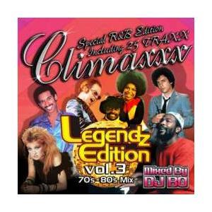 洋楽・70年代・80年代・ホイットニー【MixCD】Climaxxx Legendz Edition Vol.3 / DJ Bo[M便 1/12] mixcd24
