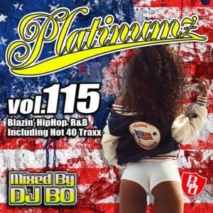 【洋楽CD・MixCD】Platinumz Vol.115 / DJ Bo[M便 1/12]|mixcd24