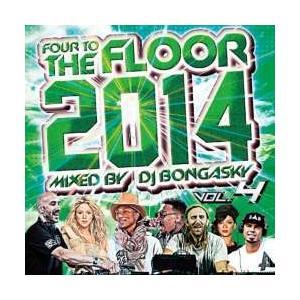 イギーアゼリア・洋楽・EDM【MixCD】Four To The Floor 2014 Vol.4 / DJ Bongasky[M便 2/12] mixcd24