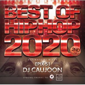 ヒップホップ 2020年下半期 メガミックス DJミックス 洋楽CD MixCD Epix 51 -Best Of Hiphop 2020 2nd Half-  / DJ Caujoon[M便 2/12]|mixcd24
