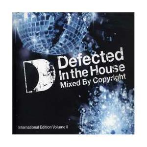 ハウス・洋楽【MixCD】Defected In The House International / Copyright[M便 5/12] mixcd24