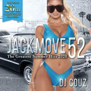ヒップホップ R&B LA DJカズ 2020 クリスブラウン ダベイビー など収録 洋楽CD MixCD Jack Move 52 -The Greatest Summer Hits 2020- / DJ Couz[M便 2/12]|mixcd24