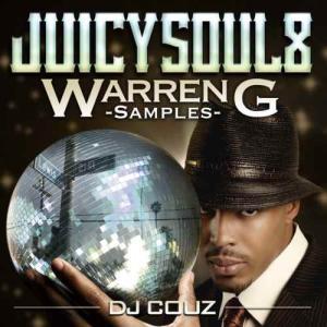 【洋楽CD・MixCD】Juicy Soul Vol.8 -Warren G Samples- / DJ Couz[M便 2/12]