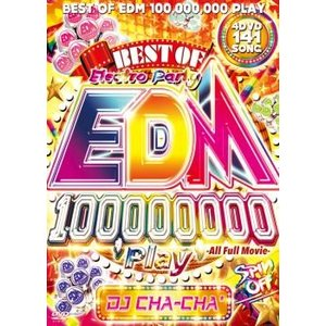 【洋楽DVD・MIX DVD】Best Of EDM 100,000,000 Play #Spin Off -All Full Movie- / DJ Cha-Cha*[M便 6/12]|mixcd24