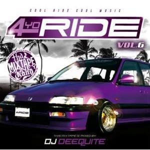 【洋楽 MixCD・MIX CD】4 Yo Ride Vol.6 / DJ Deequite[M便 2/12] mixcd24