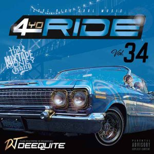 ウエストコースト ウエッサイ 人気シリーズ  洋楽CD MixCD 4Yo Ride Vol.34 / DJ Deequite[M便 2/12]|mixcd24
