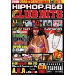 ヒップホップ R&B クラブヒッツ 2000年代 洋楽DVD MixDVD HIPHOP R&B Club Hits 2000's 2010's 2020's / DJ Diamond[M便 6/12]|mixcd24