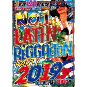 【洋楽DVD・MixDVD】No.1 Latin Reggaeton Party 2019 / I-Square[M便 6/12]|mixcd24