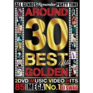 アラサー クラブソング PV集 洋楽DVD MixDVD Around 30 Best Hits Golden / DJ Swag[M便 6/12]|mixcd24