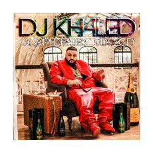 ヒップホップ・洋楽・ベスト・DJキャレッド【MixCD】DJ Khaled Complete Best Mix -2CD-R- / Tape Worm Project[M便 2/12]|mixcd24