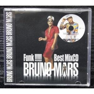 ブルーノマーズ・ベスト【洋楽CD・MixCD】Bruno Mars Funk Best MixCD -CD-R- / Various Artists[M便 1/12]|mixcd24