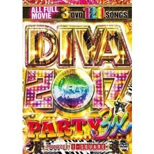 パーティーソング・ブルーノマーズ・ピットブル【洋楽DVD・MixDVD】Diva 2017 Party 3X / I-Square[M便 6/12] mixcd24
