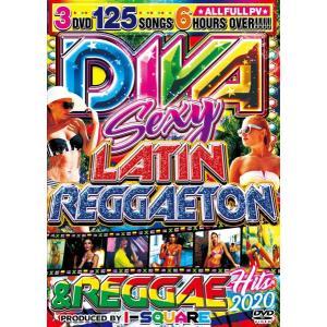 3枚組 2020 PV集 フル収録 セクシー ラテン レゲトン 洋楽DVD MixDVD Diva Sexy Latin Reggaeton & Reggae Buzz Hits 2020 / I-Square[M便 6/12] mixcd24
