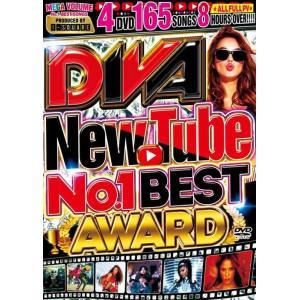 4枚組 フルPV Youtube 人気テイラースウィフト アリアナグランデ 洋楽DVD MixDVD Diva New Tube -No.1 Best Award- / I-Square[M便 6/12] mixcd24