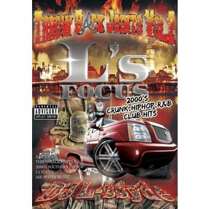 2000年代 MV ヒップホップ スローバック 洋楽DVD MixDVD L's Focus Throw Back Joints Vol.2 -2000's Down South Pack- / DJ L-ssyde[M便 6/12]|mixcd24