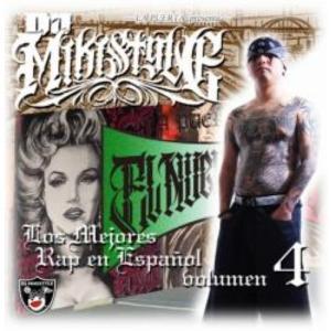 【CD・MixCD】Los Mejores Rap En Espanol Vol.4 / DJ Mikistyle[M便 2/12] mixcd24