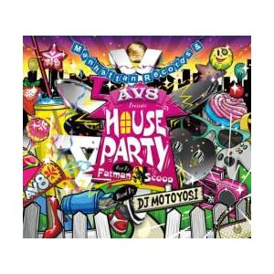 【MixCD】【洋楽】Manhattan Records & AV8 Presents -House Party Mix- / DJ Motoyosi Host By Fatman Scoop[M便 2/12] mixcd24