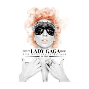 PV集・レディーガガ・洋楽【DVD】Best Of Ledy Gaga Works -AV8 Official Video Mix- / DJ Oggy[M便 5/12]|mixcd24