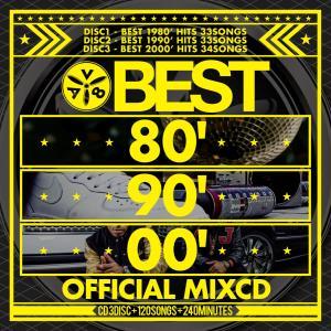 【洋楽CD・MixCD】Best 80'90'00 -Official MixCD- / V.A[M便 2/12]|mixcd24
