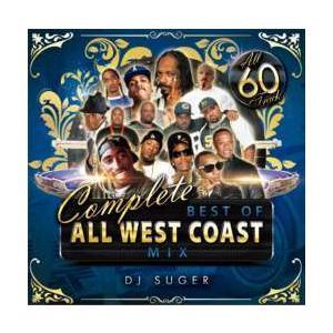 ヒップホップ・ウエストコースト・洋楽【MixCD】Complete Best Of All West Coast Mix / DJ Suger[M便 2/12]|mixcd24