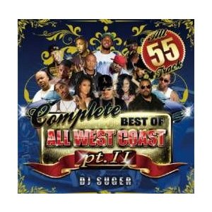 【MixCD】Complete -Best Of All West Coast Pt.2- / DJ Suger[M便 2/12]【MixCD24】|mixcd24
